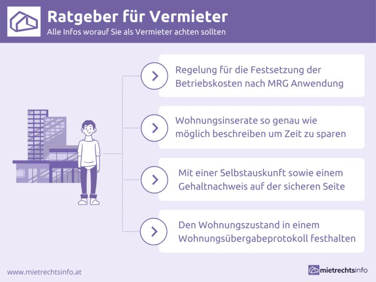 Infografik zu Ratgeber für Vermieter